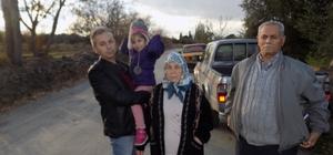 uyucak'ta mahalle sakinleri kazaların yaşandığı yolda önlem istiyor