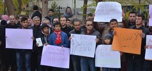Viranşehir'de Stk'lar Halep katliamını protesto etti