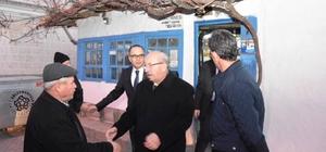 Başkan Albayrak'ın ilçe ve mahalle gezileri