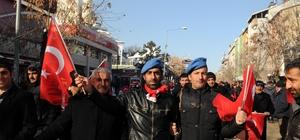 """Bingöl'de """"Şehitlere Saygı ve Milli Birlik Yürüyüşü"""""""