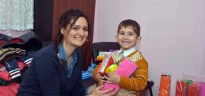 Çataklı çocuklara Kırklareli'den sevgi eli