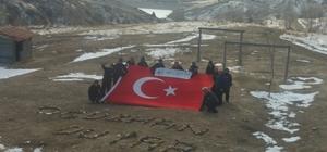 Doğaseverler şehit polis Duyar'ı andı