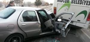 Mucur'da trafik kazası: 3 yaralı