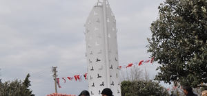 """Amasra'da """"15 Temmuz Şehitleri ve Demokrasi Parkı"""" açıldı"""