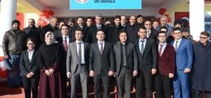 Şehit Er Cevdet Çelenk Ortaokulu resmi törenle açıldı