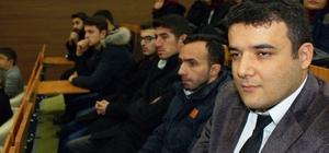 AYBÜ'de terör olayları protesto edildi
