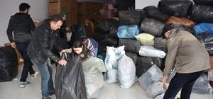 Dursunbey'de Halep İçin yardım kampanyası