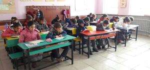 Kulu'da okullarda kitap okuma etkinliği