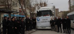 Beşir Derneği'nden Halep'e 2 TIR yardım
