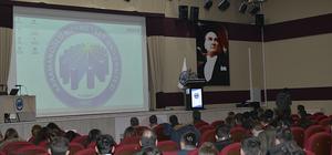 KMÜ'de akkuyu nükleer enerji projesi anlatıldı