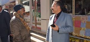 Çubuk Belediye Başkanı Acehan'dan esnaf ziyareti