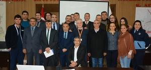 Dinar Belediyesi personeline hizmet içi eğitim verildi
