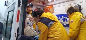Sakarya'da trafik kazası : 1 yaralı