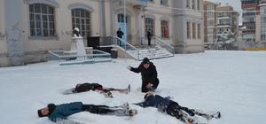 Sinop'ta eğitime kar engeli