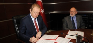 Ortaokulun yapımı için protokol imzalandı