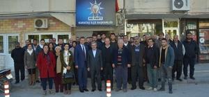 Ünüvar, Karataş'ta ilçe teşkilatı ile buluştu