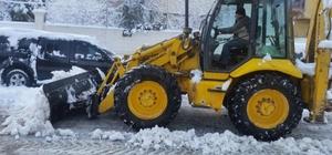Eruh Belediyesinden kar temizleme çalışmaları