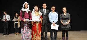 Okullar arası serbest şiir okuma yarışması