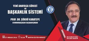Cumhurbaşkanı Başdanışmanı başkanlık sistemini anlatacak