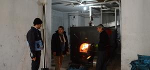 Nusaybin Belediyesinde kömür denetimi