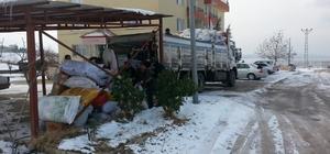 Halep'e insani yardım