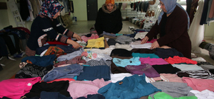 Şarkışla'da 250 aileye giyecek yardımı yapıldı