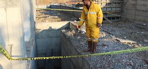 Tokat'ta yurt inşaatından düşen kişi yaralandı