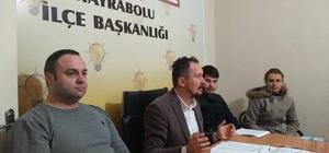 AK Parti Hayrabolu ilçe danışma kurulu toplantısı