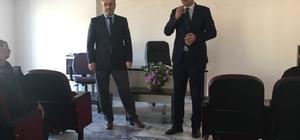 Din Bir-Sen Başkanı Özdemir, Aydın'da ziyaretlerde bulundu