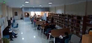 Buharkent Halk Kütüphanesine büyük ilgi