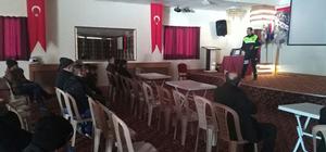 Dinar'da trafik kuralları semineri verildi