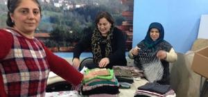 Pelitovası Derneğinden Halep'e yardım yapıldı!