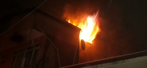 Hendek'te iş yeri yangını