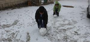 Kar yağışı Yavuzeli'nde de etkili oldu