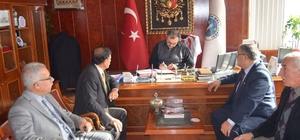 Ladik Belediyesinde sosyal denge tazminat sözleşmesi imzalandı