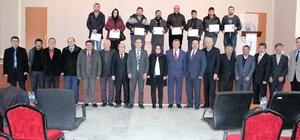 İhsaniye'de girişimciler belgelerini aldı