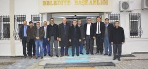 Mardin'den Ceylanpınar Belediyesine Ziyaret