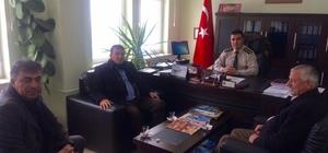 Ilgın'da STK'lardan Duran'a ziyaret