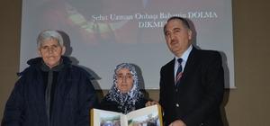 Şehit annesine Onur Ödülü verildi