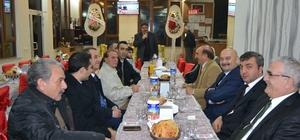 Kulu'da Özel sektör ve kurum müdürleri tanışma yemeğinde bir araya geldi