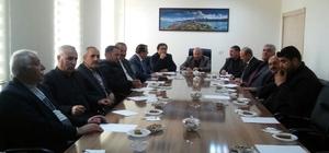 Meclis üyelerinden Gevaş Belediyesine ziyaret