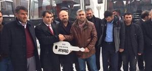 Sönmezler Otokar'dan Pasinler'e büyük teslimat