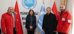 Başkan Akgün'den Türkmeneli kadınlarına yardım eli