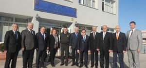 Trabzon'daki oda ve borsa başkanlarından İl Jandarma Komutanlığı'na ve Rus Konsolosluğu'na taziye ziyaretleri