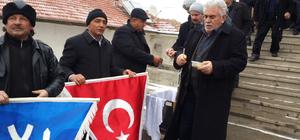 Karakeçili Yörükler Türkmenler Kültür Derneği şehitler için helva dağıttı