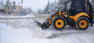 Seyitgazi Belediyesi'nin karla mücadele çalışmaları