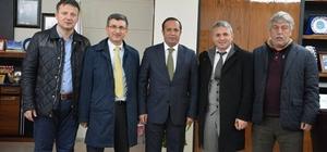 Eğitimcilerden Başkan Toltar'a ziyaret