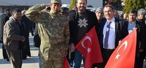 Manisa'da şehitlere saygı, teröre karşı birlik yürüyüşü