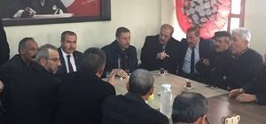 Milletvekili Demir Keskin'de muhtarlar ile biraraya geldi