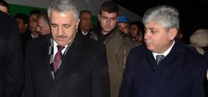 Ulaştırma Denizcilik ve Haberleşme Bakanı Arslan, Kars'ta